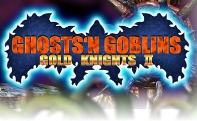 logo Ghosts'n Goblins Gold Knights 2