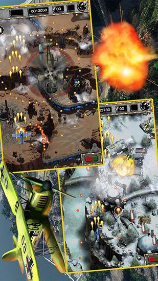 Arcade-Spiele Raiden war 2015 für das Smartphone