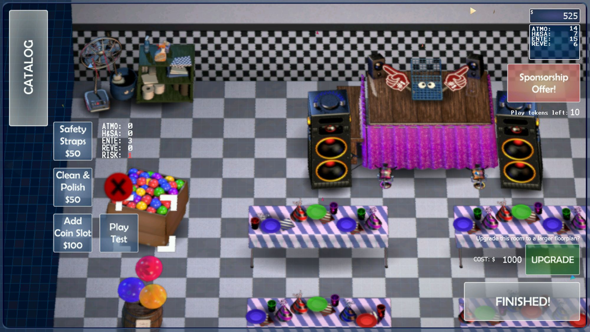 FNaF 6: Pizzeria Simulator скріншот 1