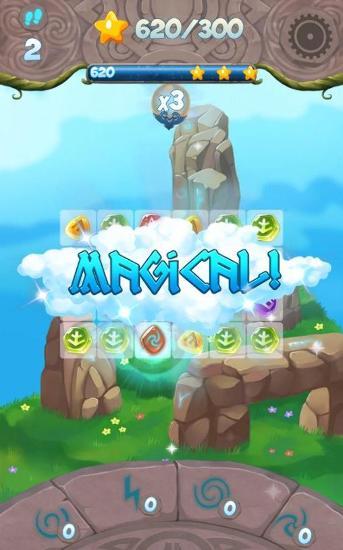 Paradise of runes: Puzzle game screenshot 4