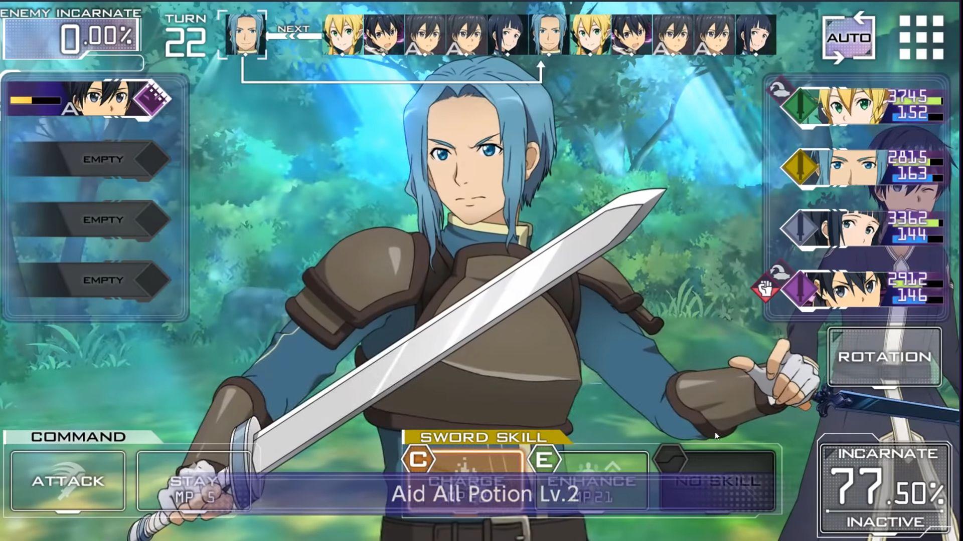 Android用 Sword Art Online Alicization Rising Steel