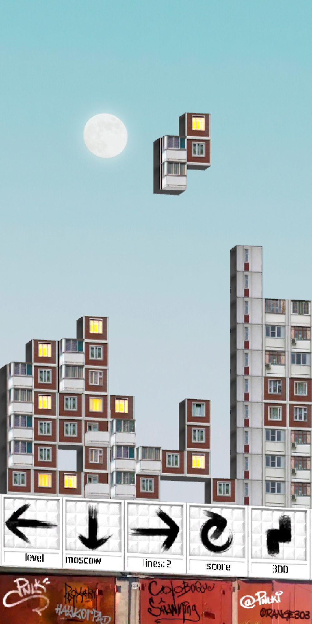 PNLK - soviet blocks block game for Android