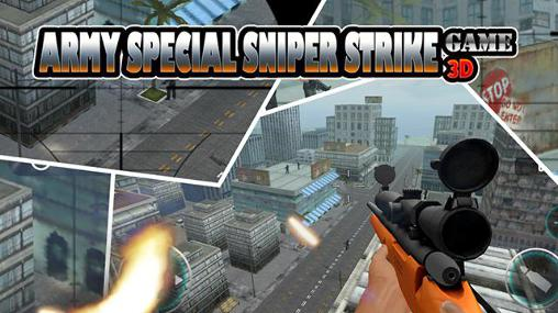 Army special sniper strike game 3D Symbol
