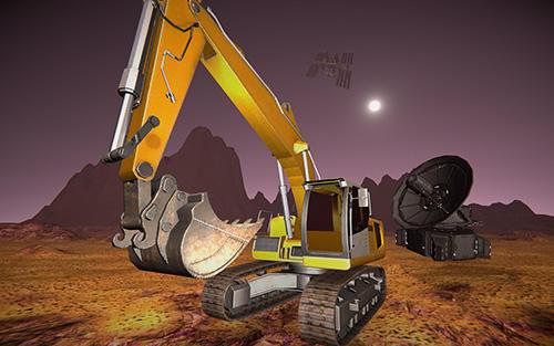 Simulation Space construction simulator: Mars colony survival pour smartphone