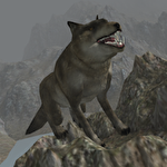 Real wolf simulator Symbol