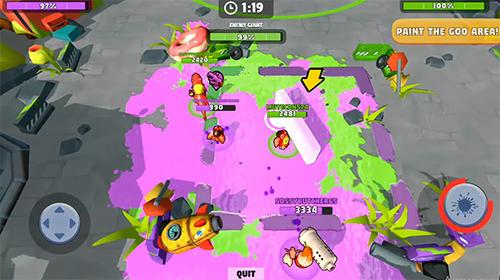 Shooter Battle blobs: 3v3 multiplayer auf Deutsch