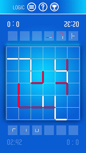 Just contours: Logic and puzzle game with lines für Android