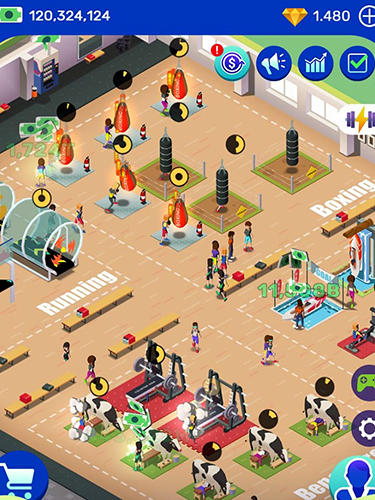 Idle fitness gym tycoon for iPhone for free