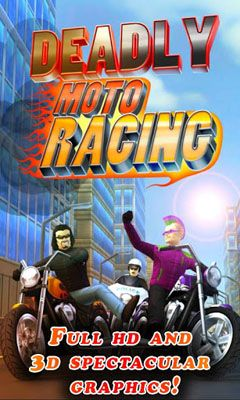 Deadly Moto Racing capture d'écran 1