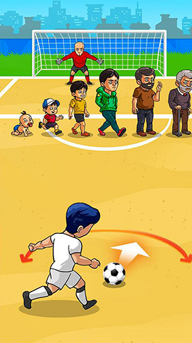 Freekick maniac: Penalty shootout soccer game 2018 für Android