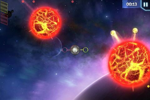 Screenshot Space Op! auf dem iPhone