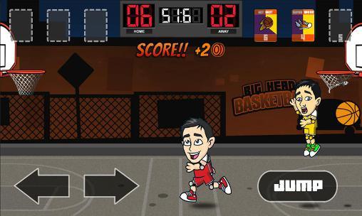 Sport Big head basketball für das Smartphone