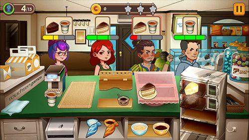 Réseau de dessert: Café et douceurs pour iPhone gratuitement