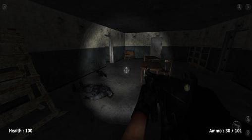 Slenderman must die: Underground bunker captura de tela 1