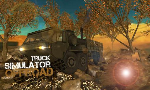 Truck simulator: Offroad screenshot 1