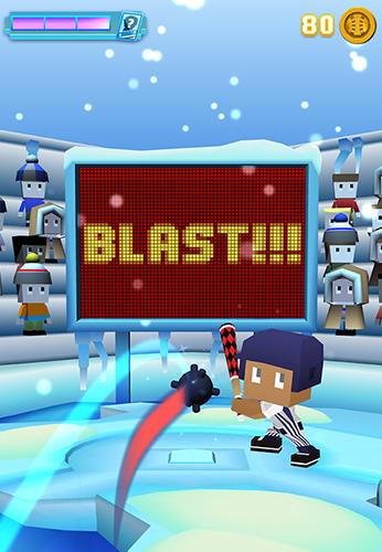 Arcade-Spiele Blocky baseball für das Smartphone