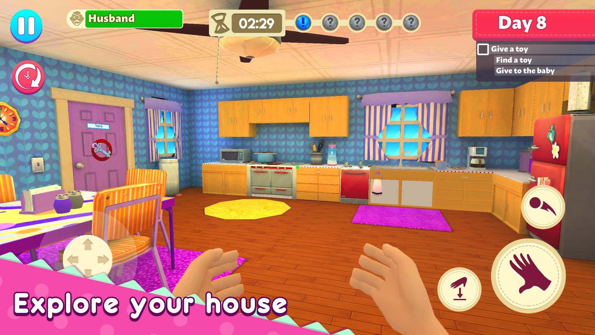 Mother Simulator: Happy Virtual Family Life скриншот 1