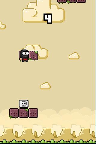 Arcade-Spiele Pixel sky für das Smartphone
