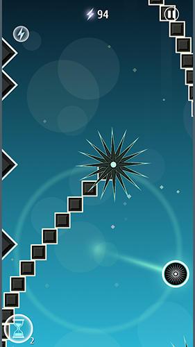 Circle vs spikes Screenshot
