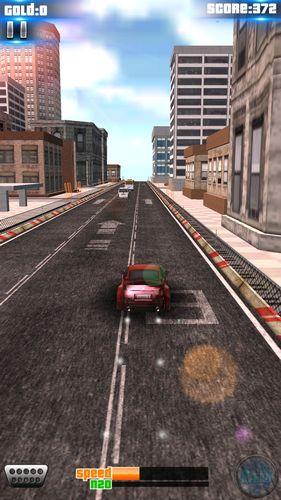 Rennspiele Speed car: Fast racing für das Smartphone
