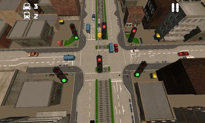 Juegos de arcade TrafficVille 3D para teléfono inteligente