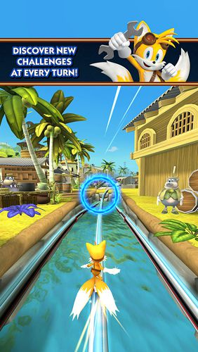 : descargar Carrera de Sonic 2: Sonic boom para iPhone