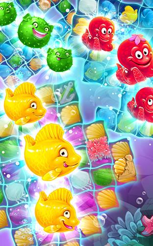 Viber mermaid puzzle match 3 Screenshot