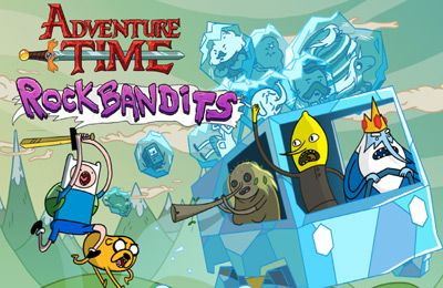 logo Rock Bandits – Adventure Time