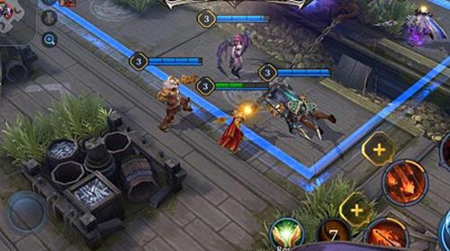 Strategische RPG-Spiele Realm of valor auf Deutsch