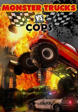logo Monster Trucks gegen Polizeiautos HD - Vollversion