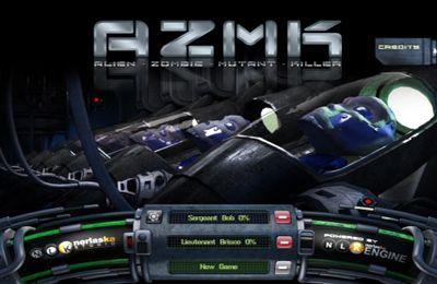 логотип Убийца инопланетных Зомби - Мутантов