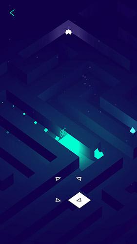 Logikspiele Glowing cube für das Smartphone