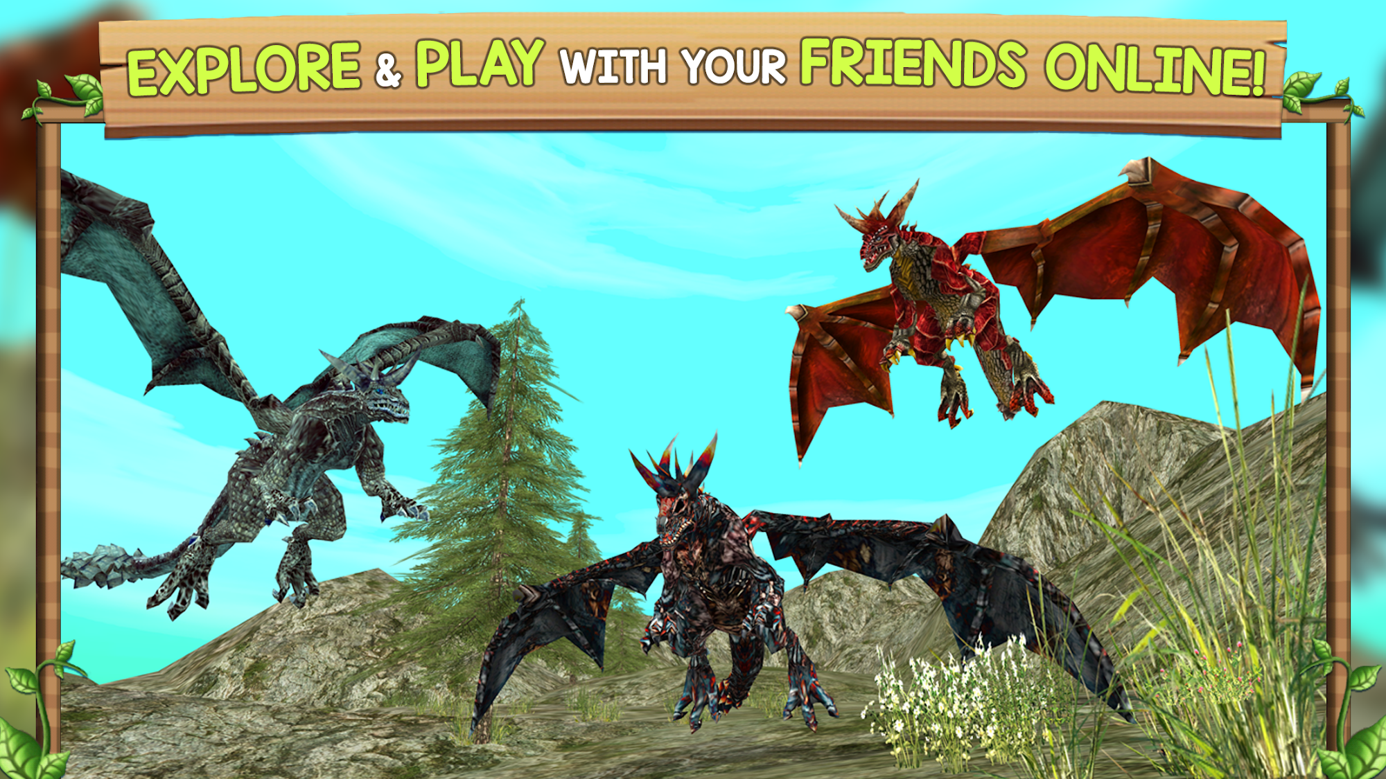 Dragon Sim Online: Be A Dragon screenshot 1