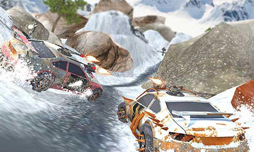 Snow buggy car death race 3D for Android