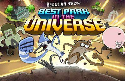 logo Bester Park im Universum - Reguläre Show