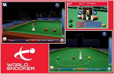 Simulator-Spiele: Lade Snooker Weltmeisterschaft auf dein Handy herunter