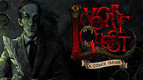 Lovecraft quest: A comix game capturas de pantalla
