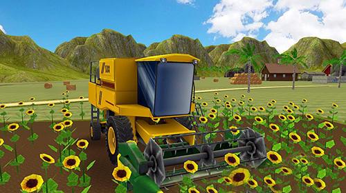 Simulation Farm tractor simulator 18 für das Smartphone