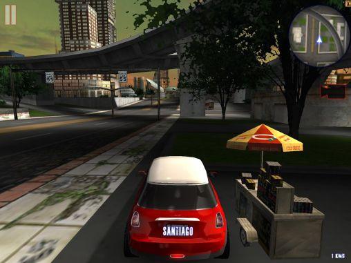 Rennspiele Midtown crazy race für das Smartphone