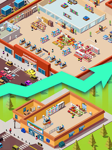 Idle supermarket tycoon: Shop para Android