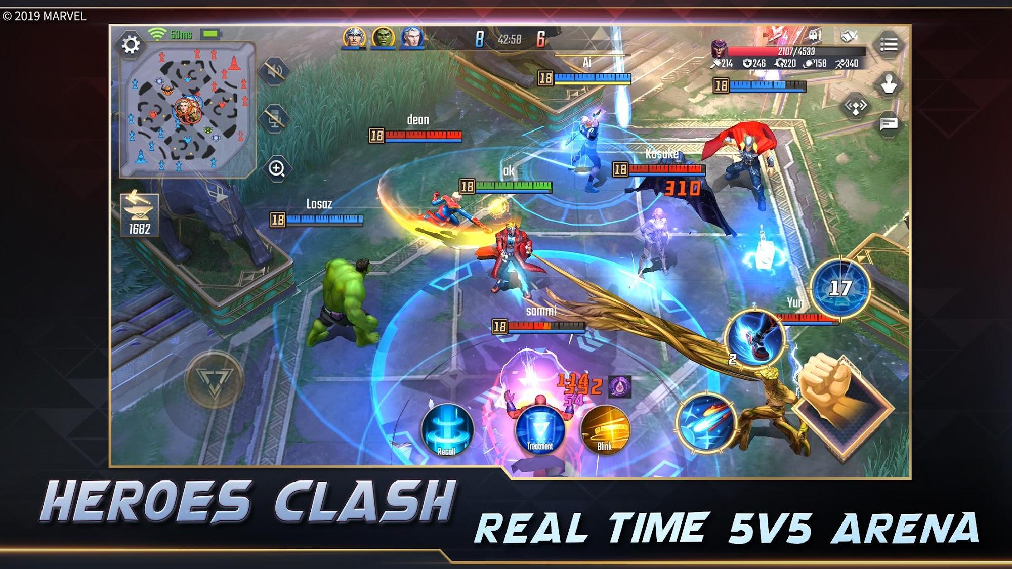 MARVEL Super War para Android