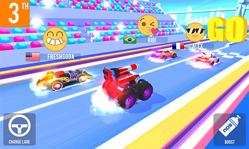 SUP multiplayer racing for Android