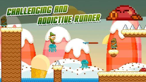 Arcade-Spiele Elvin: The water sphere für das Smartphone