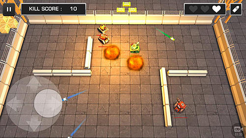 Tank wars for Android