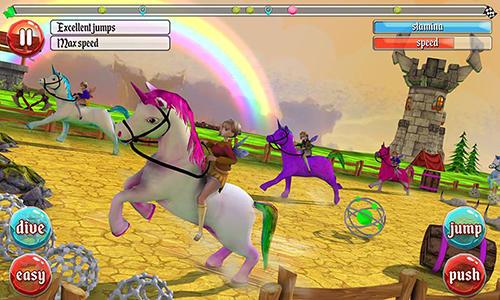 Ultimate unicorn dash 3D auf Deutsch