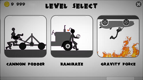 Stickman dismount 3: Heroes screenshot 2