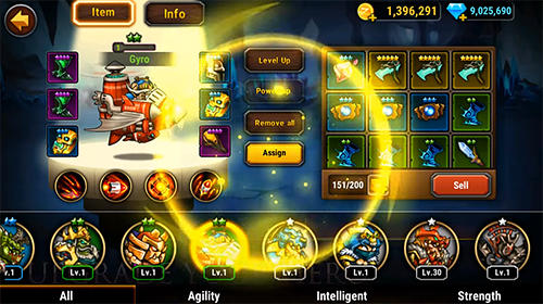 RPG-Spiele God of Era: Epic heroes war für das Smartphone
