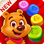 Toy party: Dazzling match 3 Symbol