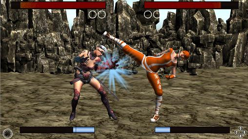 Girl fight: The fighting games captura de pantalla 1