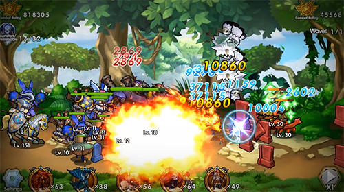 Summoners and puzzles für Android